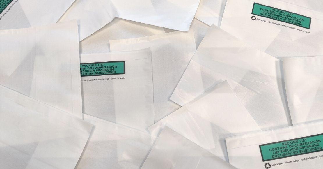 Duurzame paklijstenveloppen