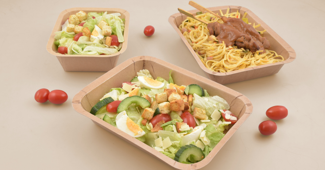 Paperpack trays
