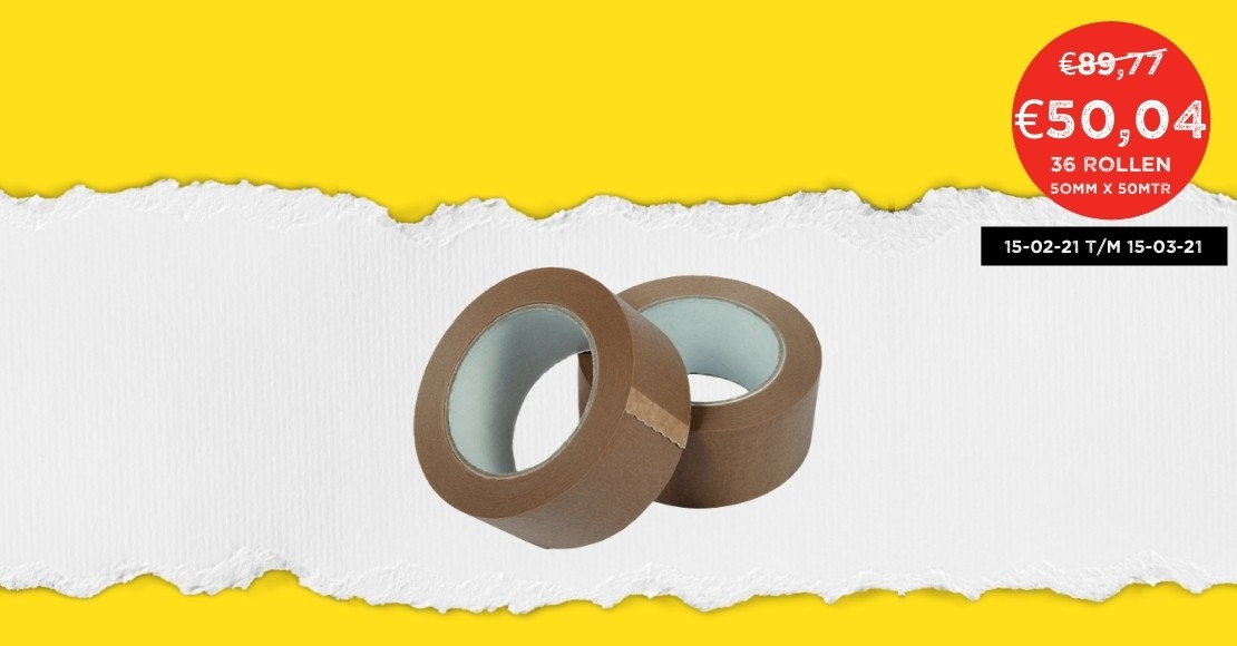 Papieren tape
